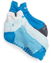 Nike - Elite 3-pack Reflective Running Tab Socks - Lyst