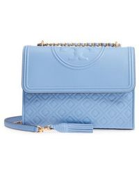Tory Burch - Fleming Leather Convertible Shoulder Bag - Lyst