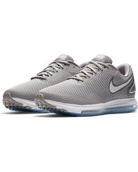 8cf8e0d3d06d Lyst - Nike Zoom Ascention Men s Basketball Shoe in Gray for Men