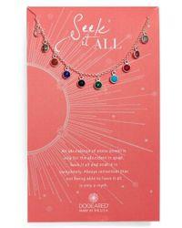 Dogeared - Seek It All Pendant Necklace - Lyst