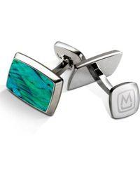 M-clip - M-clip Abalone Cuff Links - Lyst