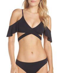 Becca - Ruffle Bikini Top - Lyst