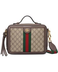 f68894d4399f Gucci - Small Ophidia Gg Supreme Canvas Shoulder Bag - - Lyst