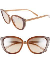 037e21cdf28 Lyst - Fendi Bold Sunglasses - Havana Beige Gold brown in Natural