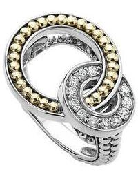 Lagos | Enso Diamond Ring | Lyst