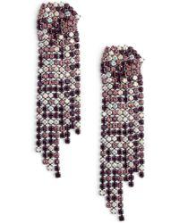 Serefina - Sparkle Statement Earrings - Lyst