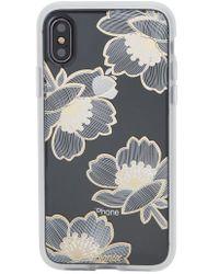 Swarovski Opal Daisy iPhone X Case in Black Sonix lYo1gmqyqA
