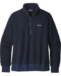 Patagonia - Woolyester Fleece Quarter Zip Pullover - Lyst
