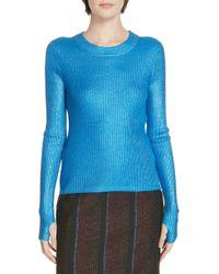 HUGO - Sutala Shimmer Knit Sweater - Lyst