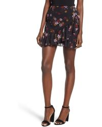 The Fifth Label - Keystone Floral Ruffle Skirt - Lyst