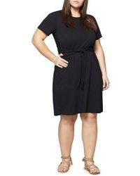 Sanctuary - Juno Tie Waist T-shirt Dress - Lyst