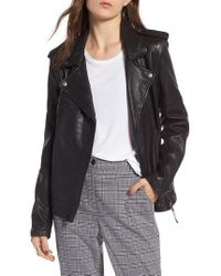 Treasure & Bond - Convertible Leather Jacket - Lyst
