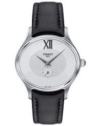 Tissot - Bella Ora Leather Strap Watch - Lyst
