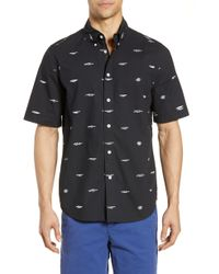 aaac3e3a Rag & Bone Fit 3 Base Shirt in Brown for Men - Lyst
