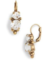 Sorrelli | Jewelry Ornate Crystal Drop Earrings | Lyst