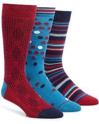Paul Smith - 3-pack Socks - Lyst