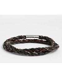 Tateossian - 'pop' Leather Bracelet - Lyst