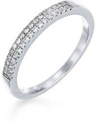 CARRIERE JEWELRY - Carriere Double Row Diamond Stack Ring (nordstrom Exclusive) - Lyst