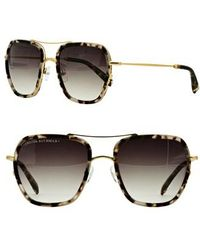 Freida Rothman | Breckenridge 53mm Aviator Sunglasses | Lyst