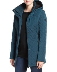 CALVIN KLEIN 205W39NYC - Hooded Quilted Jacket - Lyst