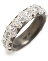 Armenta - New World Sapphire Stack Ring - Lyst