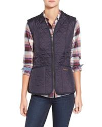 Barbour - Betty Fleece Lined Quilted Liner Vest - Lyst