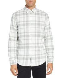 Calibrate - Brushed Plaid Sport Shirt - Lyst