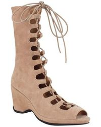 L'amour Des Pieds - Othello Lace-up Sandal - Lyst