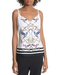 Ted Baker - Highgrove Scalloped Camisole - Lyst