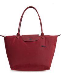 Longchamp - Le Pliage Club Medium Shoulder Tote Bag - Lyst