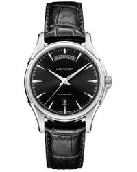 Hamilton - Jazzmaster Automatic Leather Strap Watch - Lyst