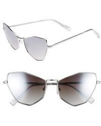 Kendall + Kylie - Liara 57mm Cat Eye Sunglasses - Lyst