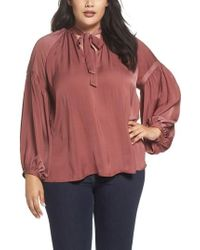 Lucky Brand | Jenna Peasant Top | Lyst