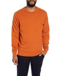 YMC - Almost Grown Crewneck Sweatshirt - Lyst