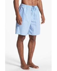 Polo Ralph Lauren - Cotton Pajama Shorts - Lyst
