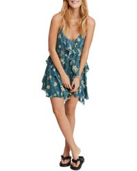 5c3927d0f49a Free People Oh Baby Mini Dress in Red - Lyst