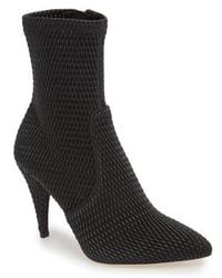 Alice + Olivia - Hedde Pointy Toe Bootie - Lyst