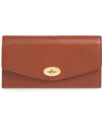 Mulberry - 'postman's Lock' Leather Wallet - - Lyst