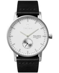 Triwa | 'falken' Leather Strap Watch | Lyst