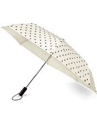 Kate Spade - Rain Drop Compact Travel Umbrella - Lyst