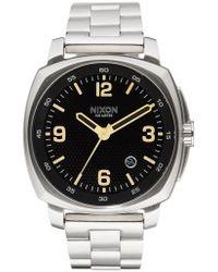 Nixon - Charger Bracelet Watch - Lyst
