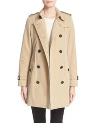 Burberry - London 'kensington' Double Breasted Trench Coat - Lyst