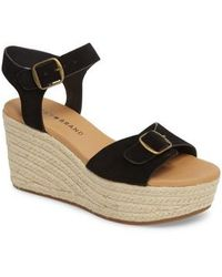 Lucky Brand - Naveah Espadrille Wedge Sandal - Lyst