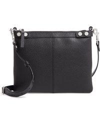 Treasure & Bond - Sloane Pebbled Leather Crossbody Bag - Lyst