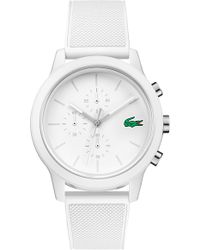 Lacoste - 12.12 Chronograph Silicone Band Watch - Lyst