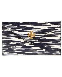 Tory Burch | Leather Envelope Clutch | Lyst