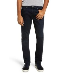 PAIGE - Transcend - Federal Slim Straight Leg Jeans - Lyst