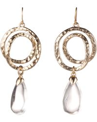 Alexis Bittar - Hammered Coil Lucite Dewdrop Earrings - Lyst