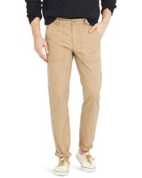 J.Crew | J.crew 770 Straight Fit Ripstop Camp Trousers | Lyst
