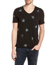 John Varvatos - Regular Fit Crewneck T-shirt - Lyst
